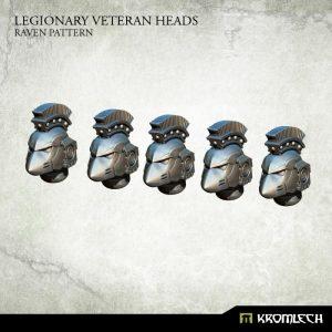 Kromlech   Legionary Conversion Parts Legionary Veteran Heads: Raven Pattern (5) - KRCB200 - 5902216115989