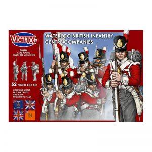 Victrix   Victrix Waterloo British Infantry Centre Company - VX0001 - 5060191720007