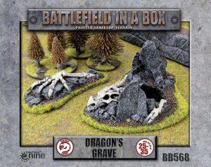 Gale Force Nine   Battlefield in a Box Battlefield in a Box: Dragon's Grave - BB568 - 9420020239791