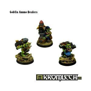 Kromlech   Orc Model Kits Goblin Ammo Dealers (3) - KRM068 - 5902216112360