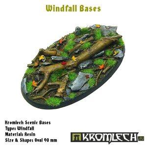 Kromlech   Windfall Bases Windfall oval 90x52mm (1) - KRRB031 -