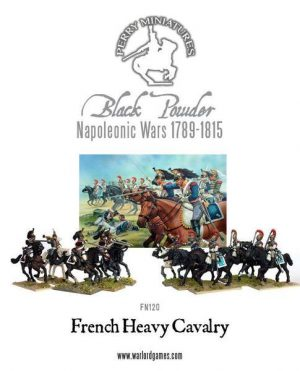 Perry Miniatures   Perry Miniatures French Napoleonic Heavy Cavalry 1812-1815 - FN120 - FN120
