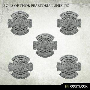 Kromlech   Legionary Conversion Parts Sons of Thor Praetorian Shields (5) - KRCB217 - 5902216116870