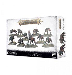 Games Workshop Age of Sigmar  Soulblight Gravelords Soulblight Gravelords Dire Wolves - 99120207093 - 5011921139064