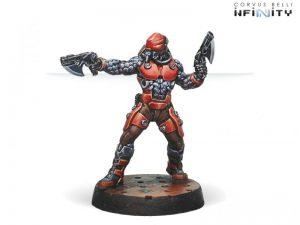 Corvus Belli Infinity  Nomads Gecko Pilot - 280585-0637 - 2805850006374