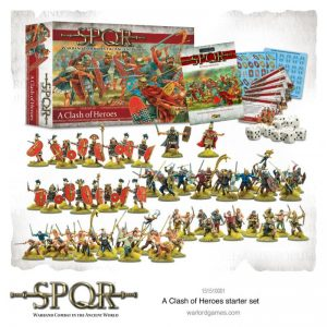 Warlord Games SPQR  SPQR SPQR: A Clash of Heroes Starter Set - 151510001 - 5060572504400