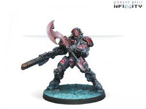 Corvus Belli Infinity  Combined Army Sogarat Tempest Regiment (HMG) - 280666-0509 - 2806660005090