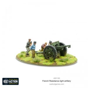 Warlord Games (Direct) Bolt Action  France (BA) French Resistance Light Artillery - 403011303 -