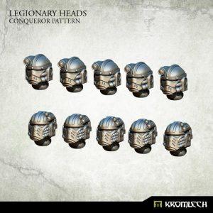 Kromlech   Legionary Conversion Parts Legionary Heads: Conqueror Pattern (10) - KRCB201 - 5902216116023