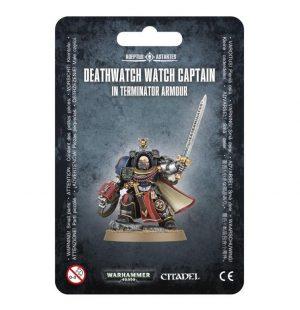 Games Workshop (Direct) Warhammer 40,000  Deathwatch Deathwatch Terminator Captain - 99070109006 - 5011921078448