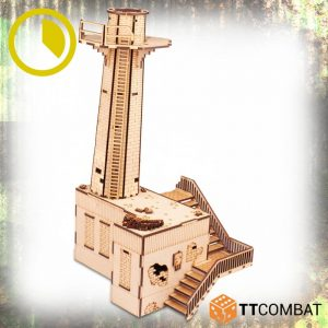 TTCombat   World War Scenics Warehouse Chimney Stack - TTSCW-WAR-057 - 5060570137853