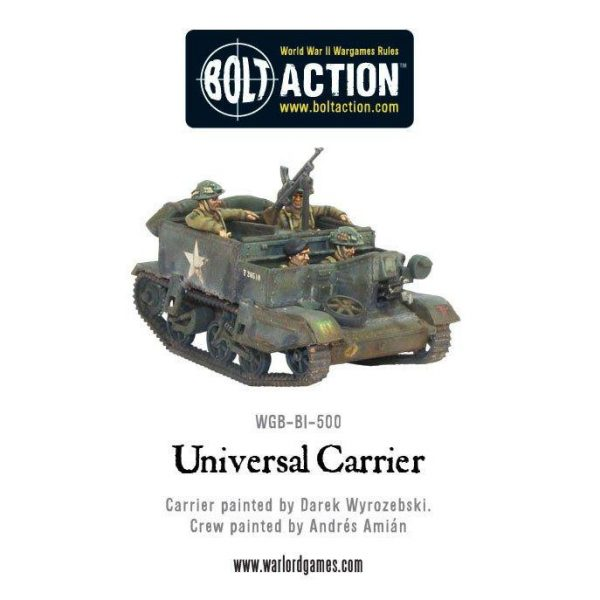 Warlord Games Bolt Action  Great Britain (BA) British Universal Carrier - 402011008 - 5060200849774
