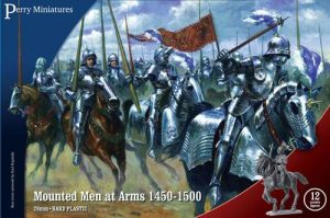 Perry Miniatures   Perry Miniatures Mounted Men at Arms 1450-1500 - WR40 - WR40