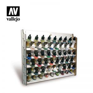 Vallejo   Paint Racks AV Acrylics - Wall Mounted Paint Display (17ml) - VAL26010 - 8429551260107