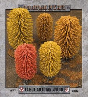 Gale Force Nine   Battlefield in a Box Large Autumn Wood - BB552 - 9420020221796