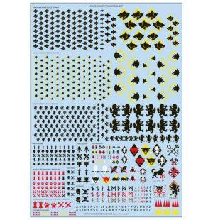 Games Workshop (Direct) Warhammer 40,000  40k Direct Orders Space Wolves Transfer Sheet - 99510101146 - 5011921069606