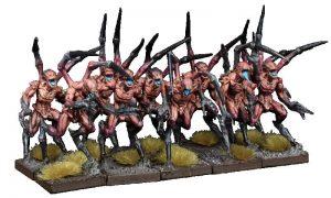 Mantic Kings of War  Nightstalkers Nightstalker Reapers Troop - MGKWNS303 - 5060469665085