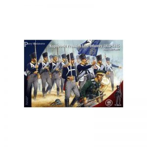 Perry Miniatures   Perry Miniatures Napoleonic Prussian Line Infantry 1813-1815 - PN01 - PN01