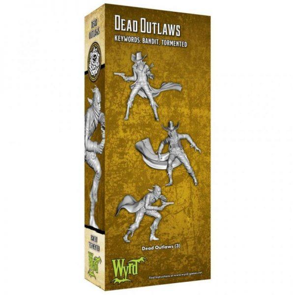 Wyrd Malifaux  Outcasts Dead Outlaws - WYR23518 - 812152032040