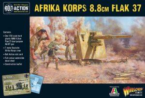 Warlord Games Bolt Action  Germany (BA) Afrika Korps 8.8cm Flak 37 - 402012034 - 5060572501089
