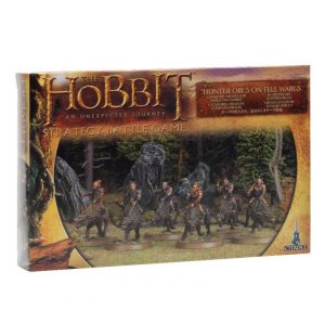 Games Workshop (Direct) Middle-earth Strategy Battle Game  Evil - The Hobbit The Hobbit: Hunter Orcs on Fell Wargs - 99121462009 - 5011921042005