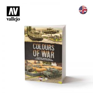 Vallejo   Painting Guides Book - Colours of War - Painting WWII Miniatures - VAL75013 - 9781988558066