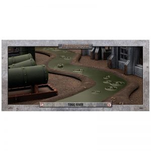 Gale Force Nine   Battlefield in a Box Toxic River (6ft) - 30mm - BB576 - 9420020239845