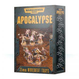 Games Workshop Warhammer 40,000  Apocalypse Warhammer 40,000 Apocalypse Movement Trays (25mm) - 99220199071 - 5011921119820