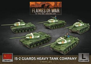 Battlefront Flames of War  SALE! Soviet IS-2 Guards Heavy Tank Company - SBX62 - 9420020251342