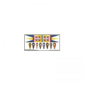 Gripping Beast SAGA  SAGA Norman Banner & Shield Transfers - LBMS SAGA002 -