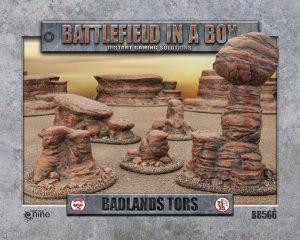 Gale Force Nine   Battlefield in a Box Battlefield in a Box: Badlands Tors (Mars) - BB566 - 9420020229471