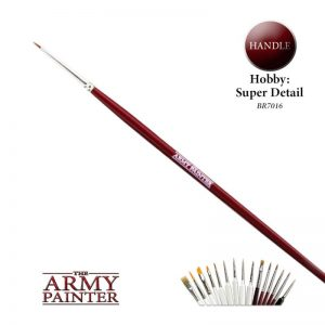 The Army Painter   Army Painter Brushes Hobby Brush: Super Detail - APBR7016 - 5713799701601