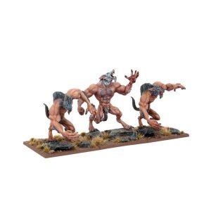 Mantic Kings of War  Undead Undead Werewolves Regiment - MGKWU17-1 - 5060208865110