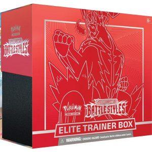 Pokemon Pokemon - Trading Card Game  Pokemon Pokemon - Battle Styles Elite Trainer Box (Red) - POK80835-R - 820650808357