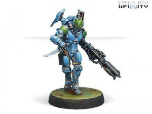 Corvus Belli Infinity  PanOceania Akalis, Sikh Commandos (Spitfire) - 280277-0522 - 2802770005227