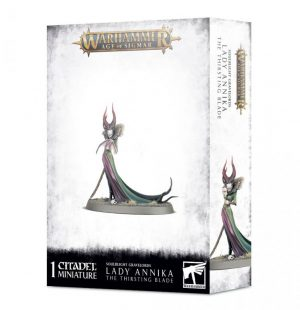 Games Workshop Age of Sigmar  Soulblight Gravelords Lady Annika, The Thirsting Blade - 99120207108 - 5011921138975