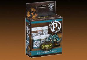 Privateer Press   Paint Sets P3 Paint Set: Trollbloods - PIP93083 - 875582005503