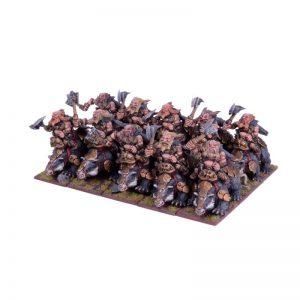 Mantic Kings of War  Dwarf Armies Dwarf Berserker Brock Rider Regiment - MGKWD28-1 - 5060208866339