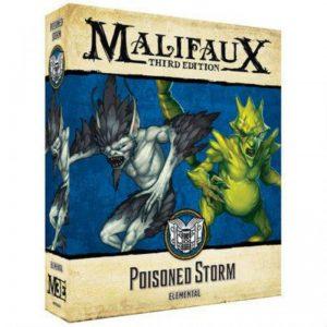 Wyrd Malifaux  Arcanists Poisoned Storm - WYR23318 -