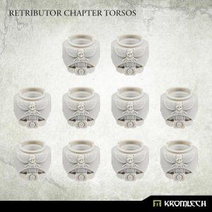 Kromlech   Legionary Conversion Parts Retributor Chapter Torsos (10) - KRCB266 - 5908291070557