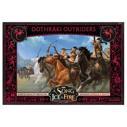 Cool Mini or Not A Song of Ice and Fire  House Targaryen A Song of Ice and Fire: Targaryen Dothraki Outriders - CMNSIF603 - 889696008848