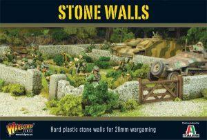 Warlord Games Bolt Action | Pike & Shotte | Black Powder  Warlord Games Terrain Stone Walls - WG-TER-38 - 5060393700050