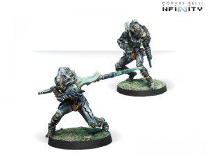 Corvus Belli Infinity  Tohaa Tohaa Igao Units (Boarding Shotgun / DA CCW) - 280934-0693 - 2809340006936