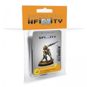 Corvus Belli Infinity  Haqqislam Haqqislam Mukhtar, Active Response Unit (Boarding Shotgun) - 281406-0813 - 2814060008139