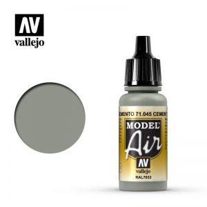 Vallejo   Model Air Model Air: Cement Grey - VAL045 - 8429551710459