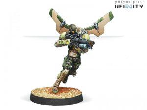 Corvus Belli Infinity  Haqqislam Hassassin Ragiks (Spitfire & Hacker) - 280496-0720 - 2804960007202