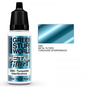 Green Stuff World   Metal Filters Metal Filters - Turquoise Interference - 8436574509434ES - 8436574509434