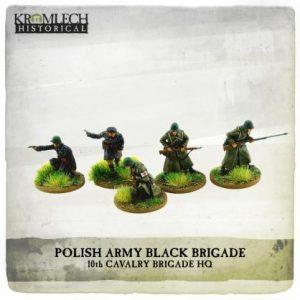 Kromlech   Kromlech Historical Polish Army Black Brigade HQ - KHWW2037 - 5902216119130