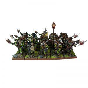 Mantic Kings of War  Orcs Orc Greatax Regiment - MGKWO22-1 - 5060208862966