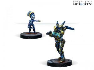 Corvus Belli Infinity  O-12 O-12 Delta Unit (Doctor, Yudbot-B) - 282003-0812 - 2820030008122